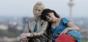 Nicole (Kerrie Hayes) and Jasmine (Nichola Burley)